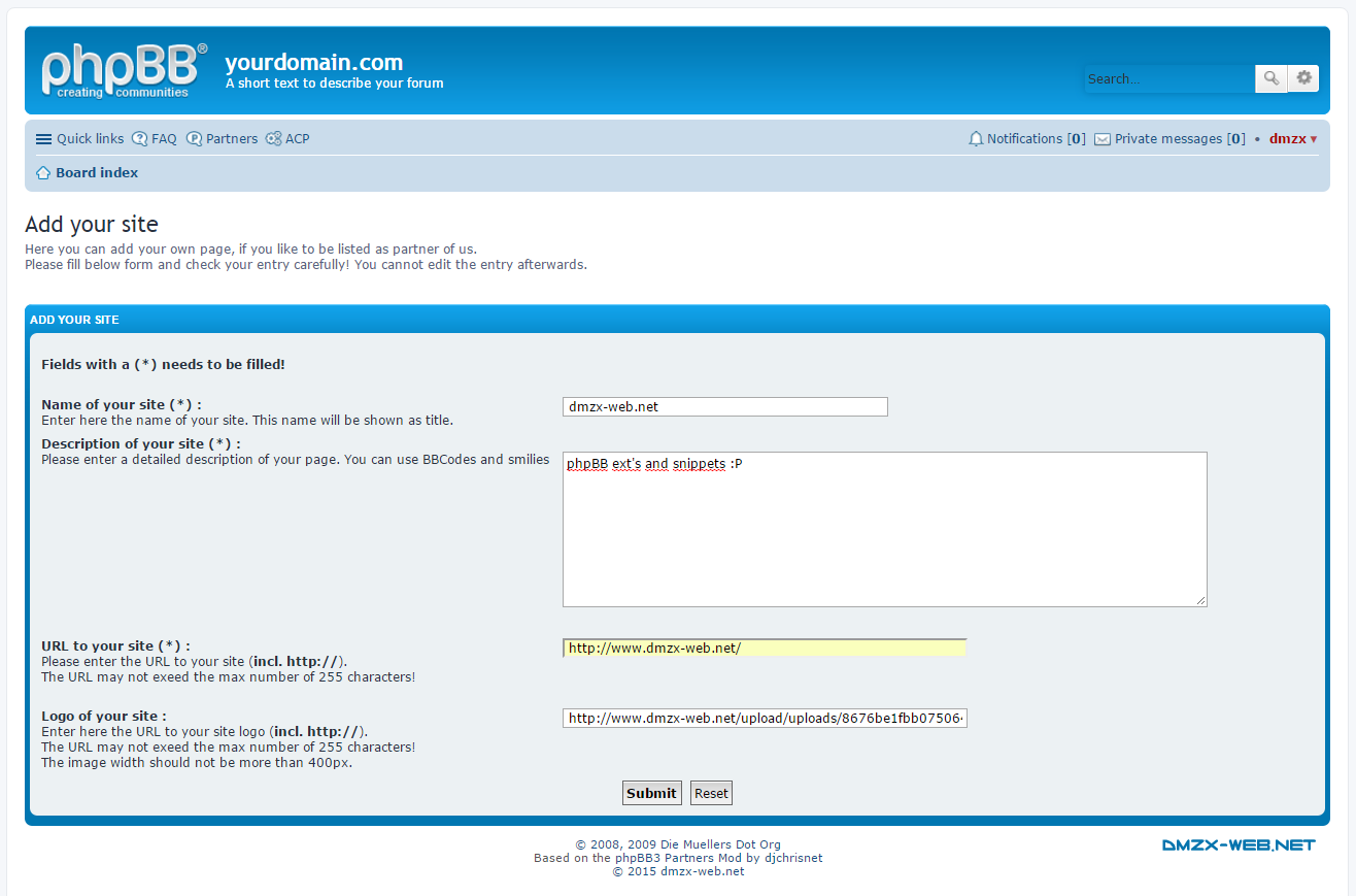 phpbb � dev partner page