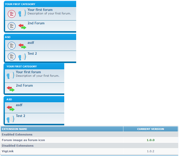 phpBB • hm is it working for you? 3 2 1 ? - Forum image as forum icon